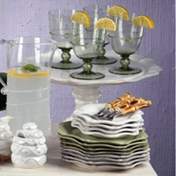 Juliska Glass and Tableware