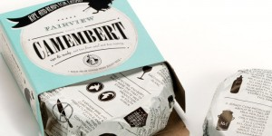 camembert packaging design