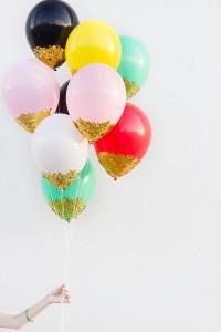 sequin balloons